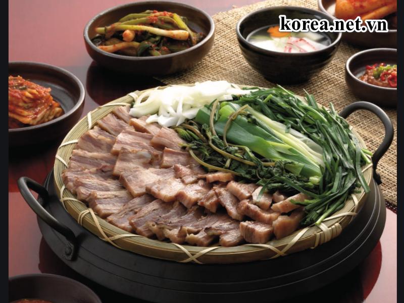 Thịt cho ở Hàn Quốc luôn là những món ăn phổ biến và đa dạng