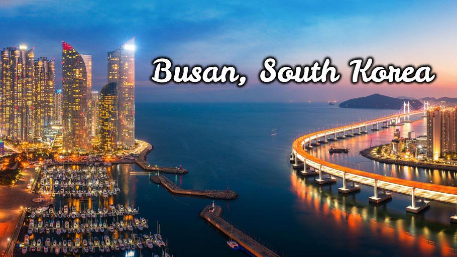 thành phố Busan xinh đẹp và phát triển rực rỡ