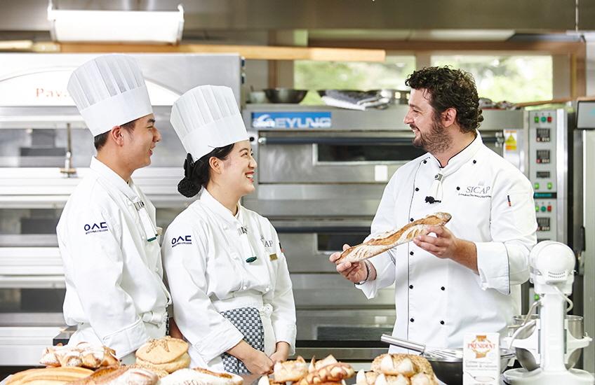 Khoa nấu ăn là niềm tự hào của cao đẳng Woosong