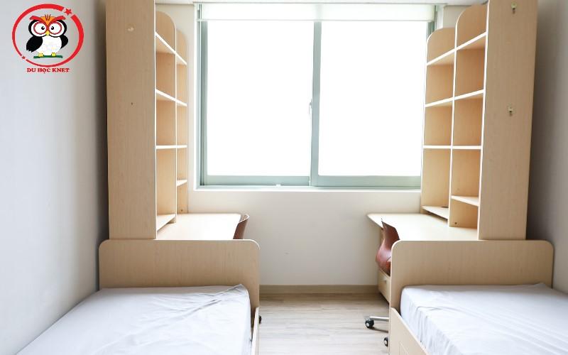 Ký túc xá Quốc Tế của đại học Woosong đầy đủ tiện nghi đẹp lung linh