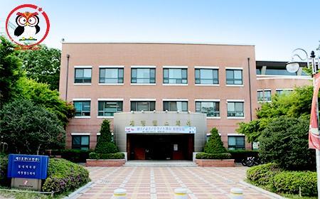 Keimyung college University có hẳn 1 trung tâm dịch vụ y tế trong trường