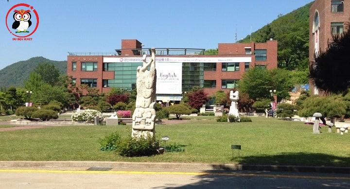 Khuôn viên trường đại học Nữ sinh Kyungin