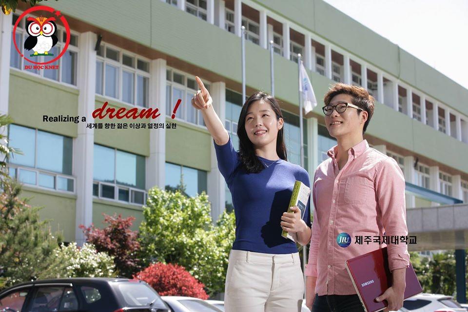 Jeju International University rất hấp dẫn sinh viên nước ngoài