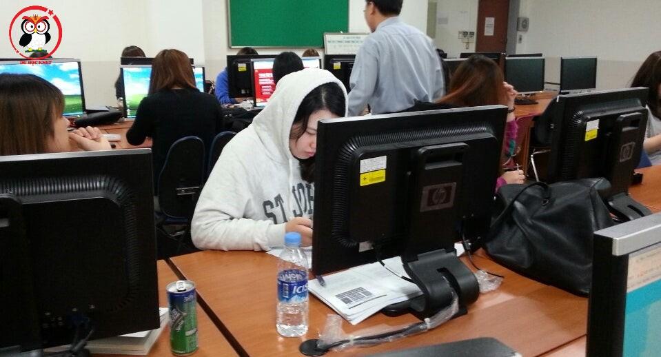 Phòng học công nghệ thông tin của kyungin women's Univ